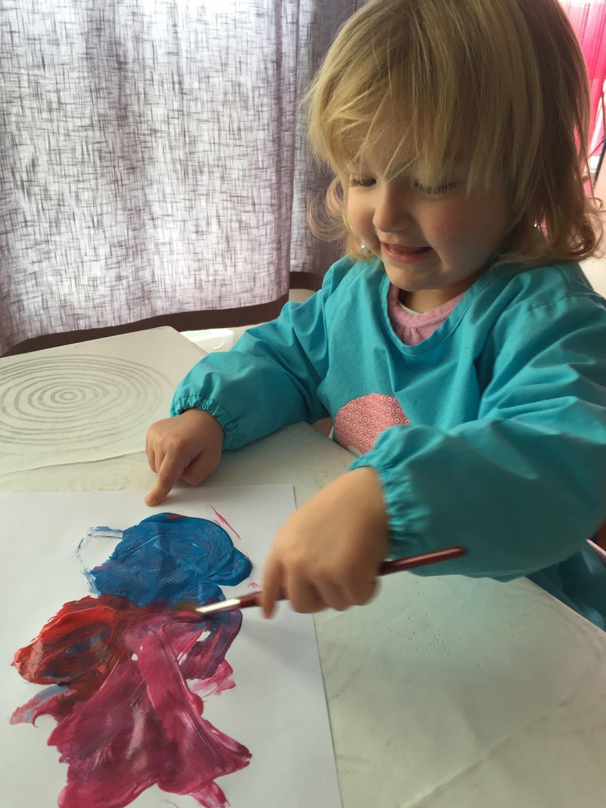 idée d'activité : le cadeau pour la fête de mamie - un bébé, ça